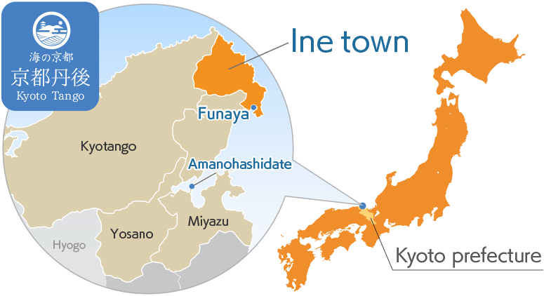 Ine town map